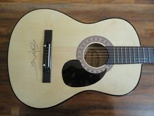 SHOOTER JENNINGS SIGNED FULL SIZE ACOUSTIC GUITAR AUTOGRAPHED COA COUNTRY WAYLON