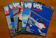 Magasine vol moteur année 1991  6 n°