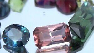 3ct Princess master cut natural Pink Tourmaline