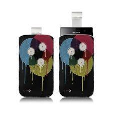 Housse coque étui pochette pour Sony Xperia U avec motif LM08