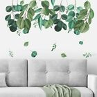 Wall Stickers Green Leaf Removable Vinyl Pvc Living Room Bedroom Home Decoration