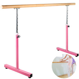 6.5FT Ballet Barre Freestanding Bar Adjustable Single Leg Stretch Dance Training
