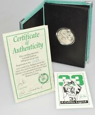 1993 Limited Edition Official Tribute Coin Larry Bird #33 1oz Pure Silver