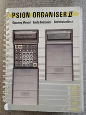 PSION Organiser II - Operating Manual