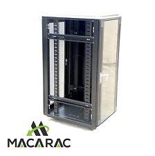 "27U 1000mm DEEP SERVER / DATA CABINET (19"" Rack / Incl. 4 x 240Vac Fan Unit)"