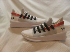 Under Armour Basketball Shoe M Tag Low White Men Size US 10, 3021800-100