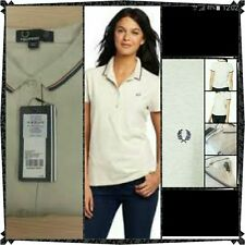 Fred Perry Collared Short Sleeve Tops & Shirts for Women