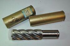 "Lot of 2 Weldon Milling End Mill 6 Flute 1-1/2"" Dia 1-1/4"" SHK 4"" LOC CoKC48-8A"