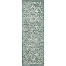 Maples Rugs Runner Rug - Pelham 2' x 6' Non Skid Hallway Carpet Entry Rugs