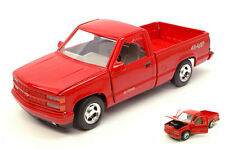 Chevrolet 454 SS Pick Up 1992 Red 1:24 Model MOTORMAX