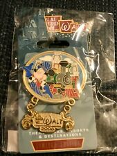 Disney It All Started With Walt Pin Mickey Railroad Train Pin LE