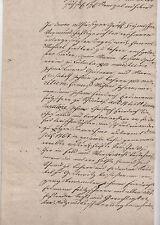 ANTIK Alte Handschrift Urkunde Gerichtsurkunde 1832  Ziegenrück