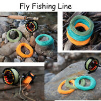 Fashion Top Weight Forward Floating Fly Line WF2/3/4/5/6/7/8F Trout Fly Fishing