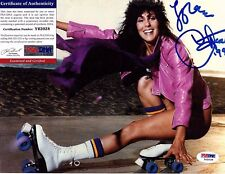CHER signed 8x10 photo PSA/DNA #Y62028