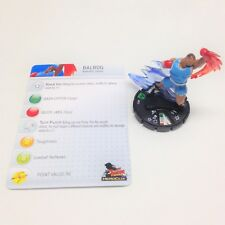 Heroclix Street Fighter set Balrog #013 Uncommon figure w/card!