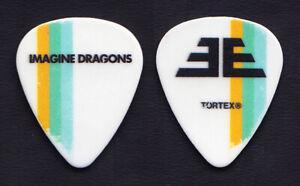 Imagine Dragons Dan Reynolds White Guitar Pick - 2018 Evolve World Tour