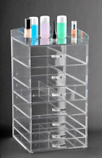 Acrylic Cosmetic Cube Vanity Organizer Makeup Storage Drawers A7