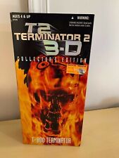 MIB Kenner T-800 Terminator 2 Action Figure T2 3D Collector's Edition Toy #27179