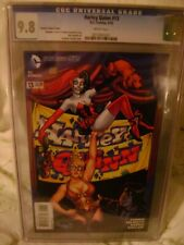 DC Comics Harley Quinn #13 Connor Variant Cover CGC 9.8 Sexy Power Girl