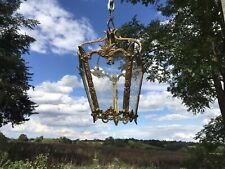 Vintage French Brass Lantern