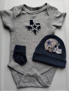 Cowboys infant/baby clothes boy Cowboys baby gift Cowboys newborn Dallas baby