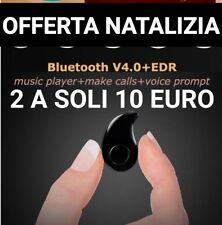 Auricolare Bluetooth Mini Cuffia Wireless Samsung Iphone Huawei Universale nano