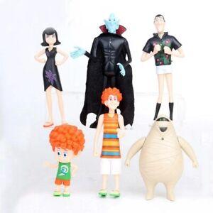 6Pcs/Set Hotel Transylvania3 Toy Doll Model Mini Action Figure Gift for Kids Toy