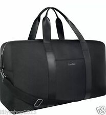 CALVIN KLEIN PARFUMS WEEKEND / HOLDALL/ TRAVEL/ GYM BAG BLACK BRAND NEW