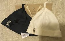 NEW Cotton On Baby Boy 2x  Baby Hat Size NB-3m