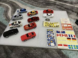 Vintage slot cars and parts unbranded