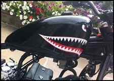 FLYING TIGERS denti di squalo occhi Retro Adesivo P40 Warhawk piccole MOTO BOBCAT