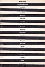 CINEMA INDIPENDENTE AMERICANO E FRANCESE franco ghielmetti e zeno birolli 1981