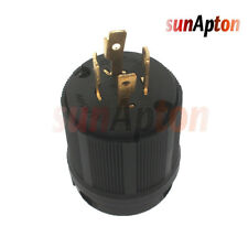 New Copper L1420P L14-20P 125V 250V 20 Amp 4 Wire Twist Lock Locking Male Plug