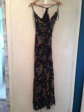 Cowl Neck Long Floral Regular Size Dresses for Women