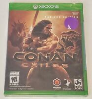 Conan Exiles: Day One Edition (Microsoft Xbox One, 2018) sealed new
