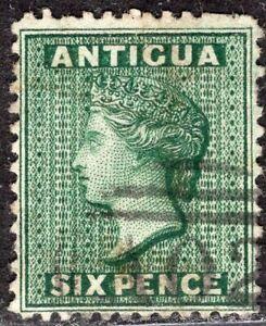 ANTIGUA 1872 STAMP Sc. # 7 USED