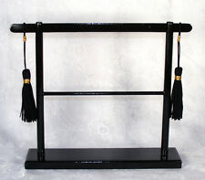 LEE Large size Solid Wood Oriental Kimono Stand & Tassels for Needlepoint Canvas