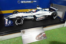 F1 WILLIAMS BMW FW22 BUTTON 2000 au 1/18 HOT WHEELS 26736 formule 1 voiture