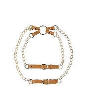 Temperley London Gold Belt Buckle Harness  Size 1