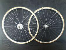 Mavic Argent 10 wheelset ofmega hubs vintage road bike 7sp maillard sachs ly98