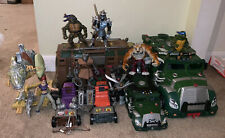 Mirage Toys - TMNT - Ninja Turtles - Battle Shell/ShellRaiser/Dino Runner - READ