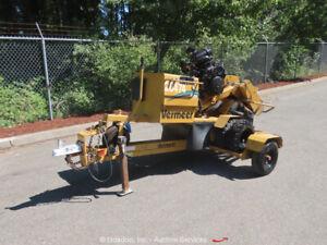 2007 Vermeer SC252 Self Propelled Wood Stump Grinder Cutter Gas bidadoo -Repair