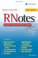 RNotes: Nurse's Clinical Pocket Guide by Myers, Ehren
