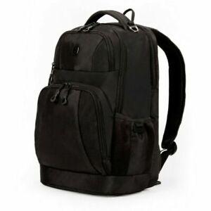 SWISSGEAR 18.5 Inch Laptop Backpack- Black
