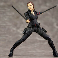 """New Avengers Endgame 6"""" Black Widow Special Agent S.H.Figuart Action Figure Toy"""
