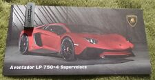 LAMBORGHINI AVENTADOR SV dossier de presse media press kit Genève Genf 2015 USB