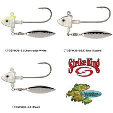 Strike King Under Spin Jig Head 3/8oz Any Color TGSPH38 Tour Grade Fishing Lures