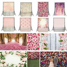 Romantic Flower Wedding Photography Background Vinyl Photo Screen Backdrop Gift