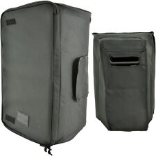 "15"" Quality Padded Speaker Transit Carry Case/Bag-Outdoor Transport Gig Zip"