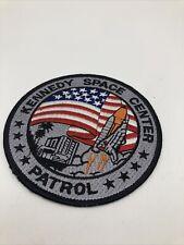 NASA Patrol Kennedy Space Center Patch UT